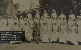 The great war - photographs of the Voluntary Aid Detachment