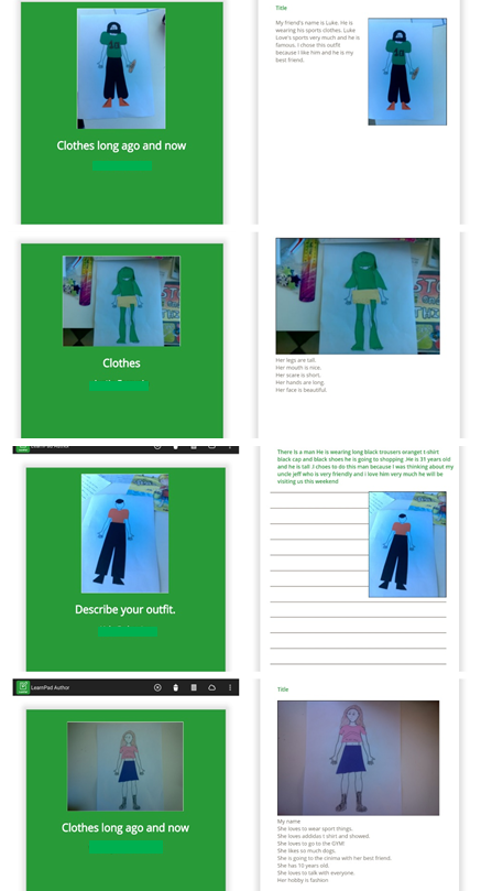 Students' final work on Author Premium