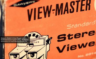 Sawyer's Model G View-Master stereoscope