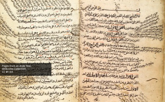 Pages from an Arab Text